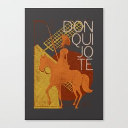 Books Collection: Don Quixote Canvas Print