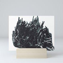Stibnite; Or, The Edward Scissorhands Mineral Mini Art Print