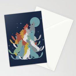 A Pack of Wolfs Stationery Cards