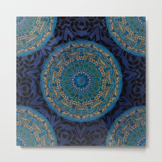 Ornament Pattern Mandala Metal Print