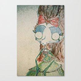 Velvetesque Dolls • Victorian Collection #2A Canvas Print
