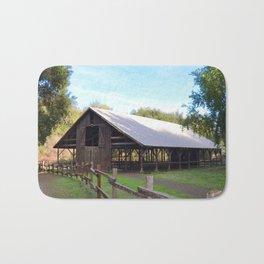 the old barn Bath Mat