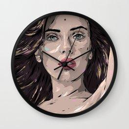 Scarlett Johansson Wall Clock