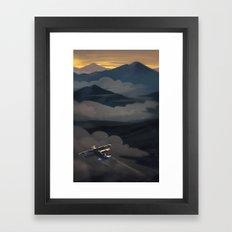 Earth Beneath Framed Art Print