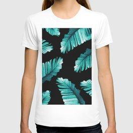 Tropical Banana Leaves Dream #6 #foliage #decor #art #society6 T-shirt