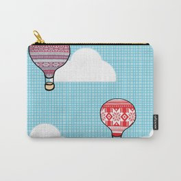 Cozy Hot Air Balloons Carry-All Pouch