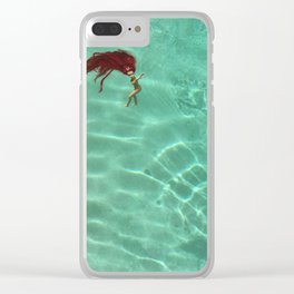 Sink or Swim Clear iPhone Case