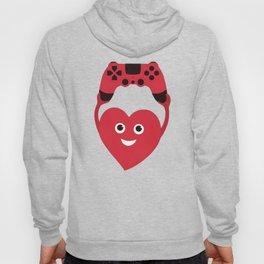 Gaming Heart Hoody