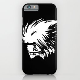 White Anime Hero Character iPhone Case