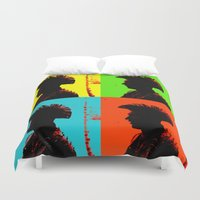 popart Duvet Covers featuring Popart punk by Kathleen Schulze