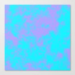 Cotton Candy Clouds - Purple & Blue Canvas Print