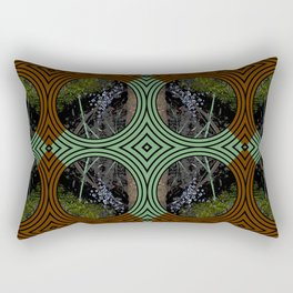Nature Portals Pattern Rectangular Pillow