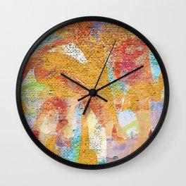 Kathak Wall Clock