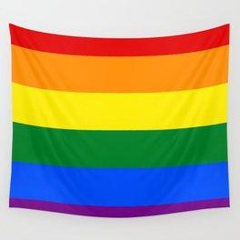 Pride rainbow flag Wall Tapestry