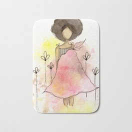 Splotch Girl - Freedom Cut Me Loose Bath Mat