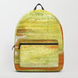 Vegas gold abstract watercolor Backpack