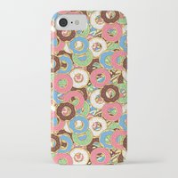 donuts iPhone & iPod Cases featuring Donuts by Beesants