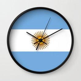 Flag of Argentina Wall Clock