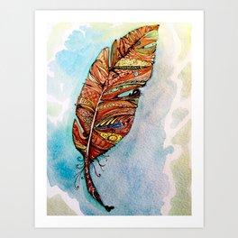 Feather 1 Art Print