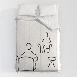 psychologist psychotherapist psychotherapie Comforters
