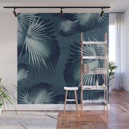 Fan Palm Leaves Paradise #12 #tropical #decor #art #society6 Wall Mural