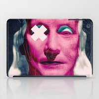 frank sinatra iPad Cases featuring Frank by Alec Goss