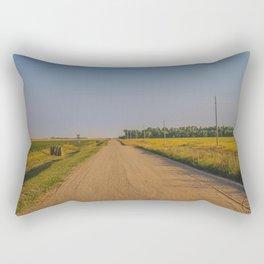 Countryside Near Garrison, ND 2 Rectangular Pillow