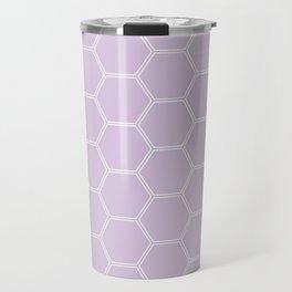 Honeycomb - Light Purple #288 Travel Mug