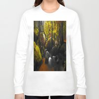 moss Long Sleeve T-shirts featuring Moss by Nev3r