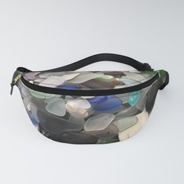 Sea Glass Assortment 1 Fanny Pack