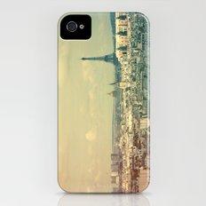 Pale Paris iPhone (4, 4s) Slim Case