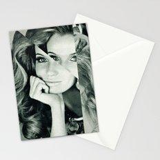 Frau Dreiecke 2 Stationery Cards