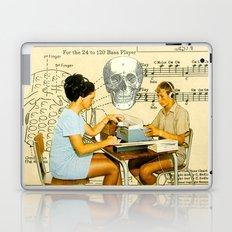 Death Accordion Laptop & iPad Skin