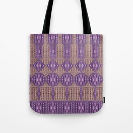 Linear Arrangements of Colorful Secure Lockers Tote Bag