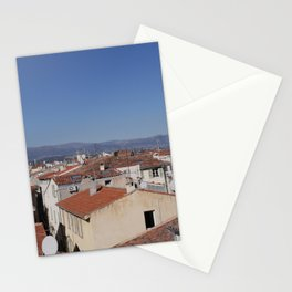 Rooftops of Antibes Stationery Cards