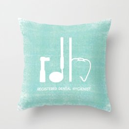 RDH Throw Pillow