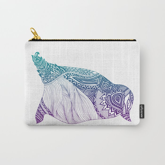 Duotone Penguin Carry-All Pouch