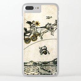 SOL XXXXIIII. Mantegna Tarot Clear iPhone Case