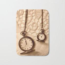 Pocket Watches Bath Mat