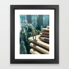 Vantage Point Framed Art Print