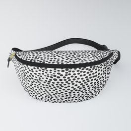 Dots and Black Fanny Pack