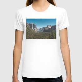 Tunnel View, Yosemite National Park V T-shirt