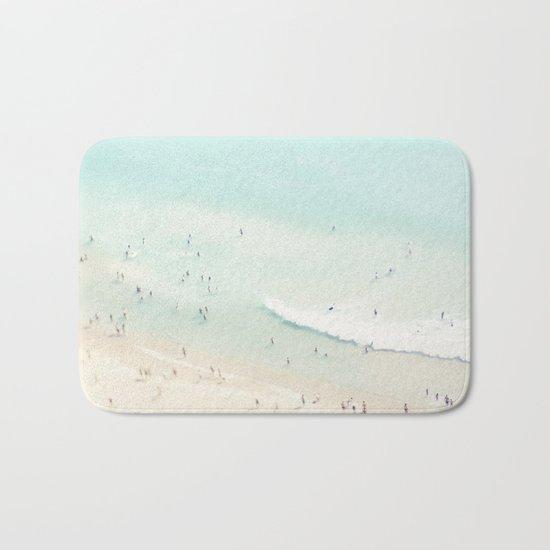 beach summer fun Bath Mat