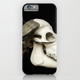 Cattle Skeleton iPhone Case