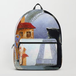 Cats of Paris  Backpack