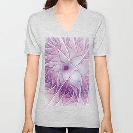 Beauty of a Flower Unisex V-Neck