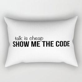 Show me the code Rectangular Pillow