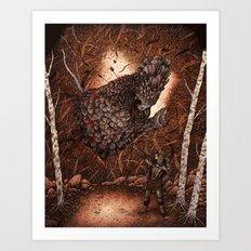 Wilder Things III  Art Print