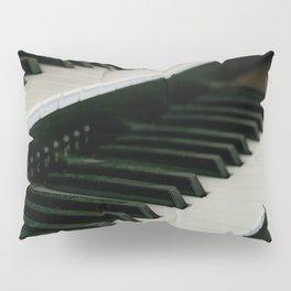 Harpsichord Keyboard Pillow Sham