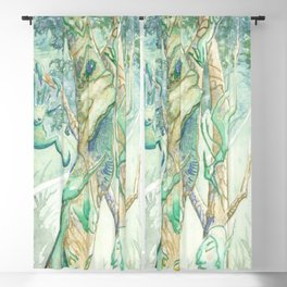 The Bumi Tree Sprites Blackout Curtain